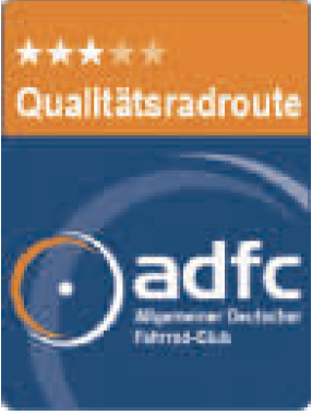 ADFC Qualitätsradroute 3 Sterne