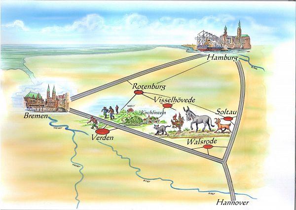 Stadtmusikanten-Weg