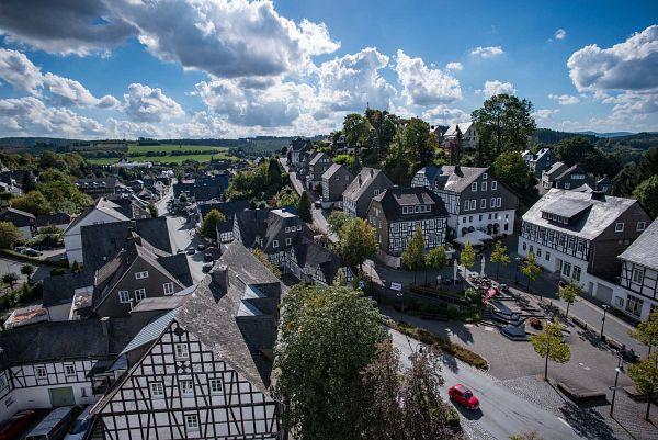 Golddorf-Radroute